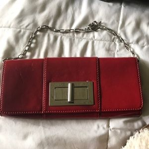 Banana Republic chained clutch